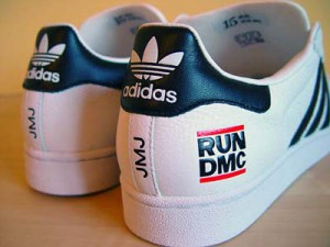 RUN DMC Adidas sneakers
