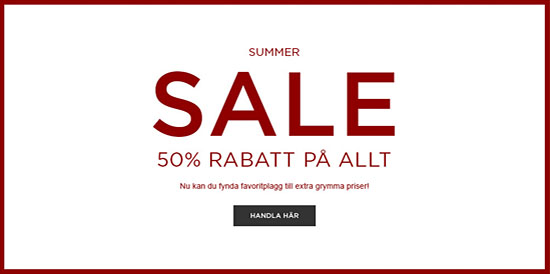 50% rabatt på allt i reasortimentet i NLY Man:s summer sale