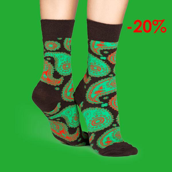 20% rabatt hos Happy Socks med rabattkod